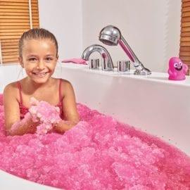 112699 Zimpli Kidz Glittery Pink Gelli Baff 300 Gram
