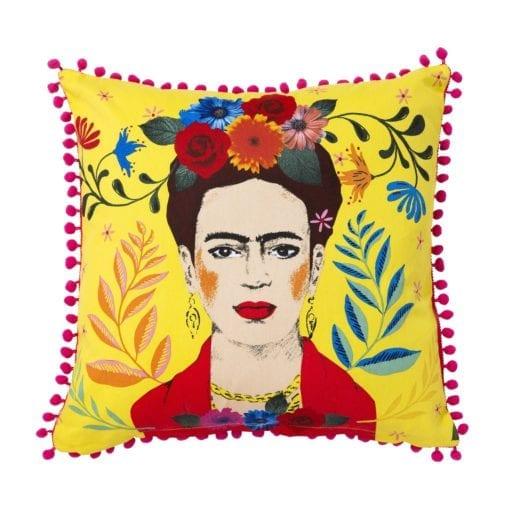 112735 Talking Tables Prydnadskudde Frida Kahlo™ Cushion