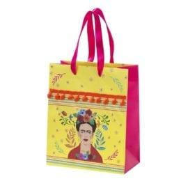 112736-2 Talking Tables Presentpåse Frida Kahlo™ 23x19x3 cm