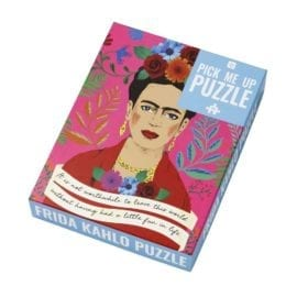 112738-1 Talking Tables Pussel Frida Kahlo Pick Me Up Jigsaw Puzzle 500 Pieces