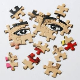 112738-2 Talking Tables Pussel Frida Kahlo Pick Me Up Jigsaw Puzzle 500 Pieces