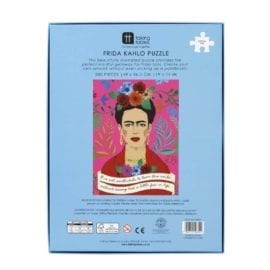 112738-3 Talking Tables Pussel Frida Kahlo Pick Me Up Jigsaw Puzzle 500 Pieces