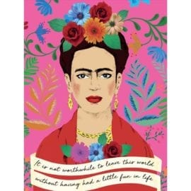112738-5 Talking Tables Pussel Frida Kahlo Pick Me Up Jigsaw Puzzle 500 Pieces