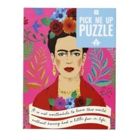 112738 Talking Tables Pussel Frida Kahlo Pick Me Up Jigsaw Puzzle 500 Pieces