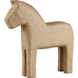 112769 Papier-Maché Häst 24.5 cm