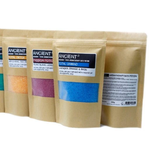 Aromatherapy Bath Potion in Kraft Bag 350 gram2