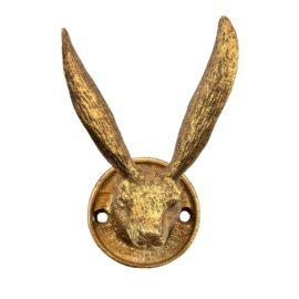 112798 Sass & Belle Väggkrok Gold Rabbit Ears Hook