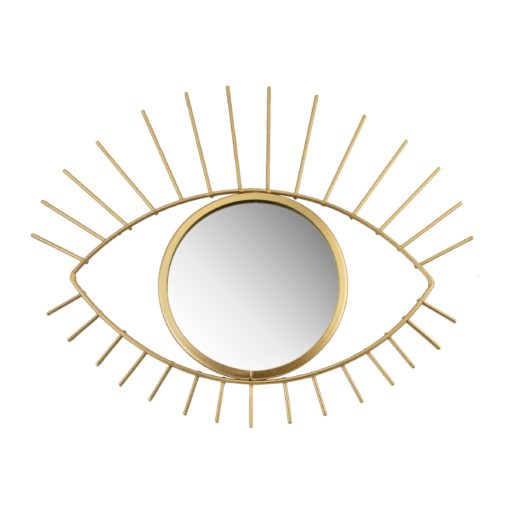 112809 Sass & Belle Spegel Gold Tribal Eye See You Mirror
