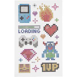 112817 Diamond Stickers Gaming 15x16.5 cm 1 Ark