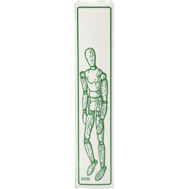 112851-2 Manekis Modelldocka Man i Trä 30 cm