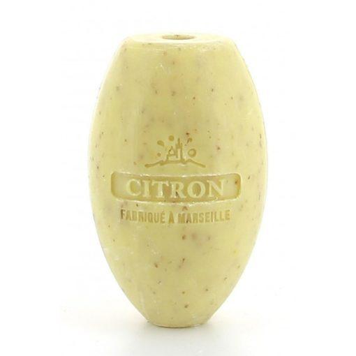 112858-1 Savon de Marseille Reptvål Äkta Fransk Naturtvål Citron