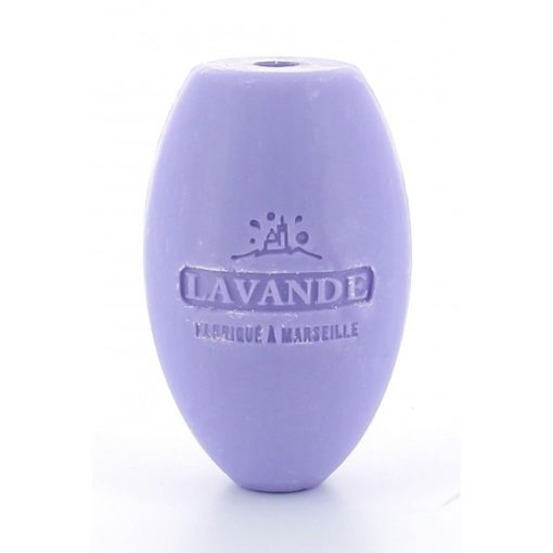 112859-1 Savon de Marseille Reptvål Äkta Fransk Naturtvål Lavendel