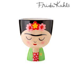 112872-4 Sass & Belle Handmålad Kruka Byst Frida Kahlo