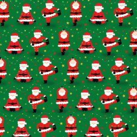 112876 Presentpapper Yoga Santa Gift Wrap 70x49 cm