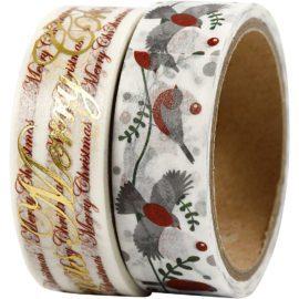 112877-1 Vivi Gade Washitejp Merry Christmas