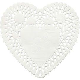 112877 Tårtpapper Hjärta 10 cm 30 st.