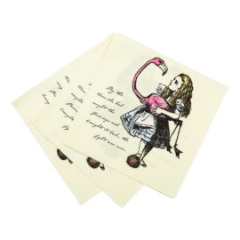 112910-1 Talking Tables Servetter Alice i Underlandet 33x33 cm 20 st – Truly Alice