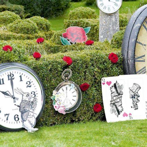 112914-3 Talking Tables Party Rekvisita Alice i Underlandet – Truly Alice
