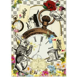 112914-1 Talking Tables Party Rekvisita Alice i Underlandet – Truly Alice