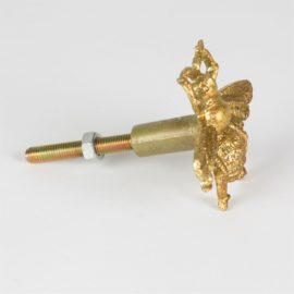 112934-1 Sass & Belle Knopp Bi Guld i Vintage Stil