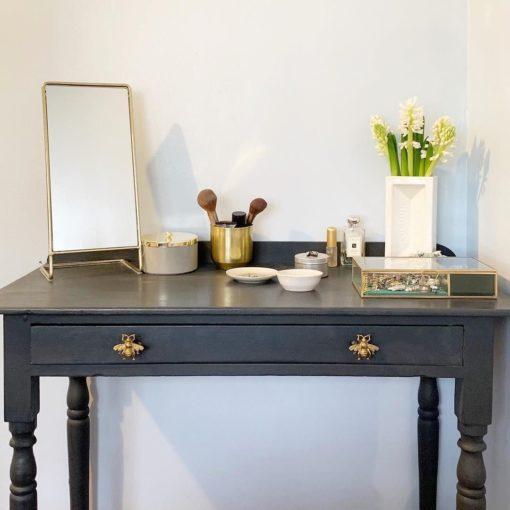 112934-2 Sass & Belle Knopp Bi Guld i Vintage Stil