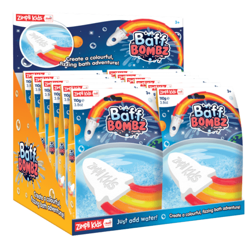 112969 Zimpli Kids Badbomb Baff Bombz Rocket