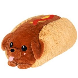 112960 Big Squishable Comfort Food Dachshund Hot Dog - 38 cm