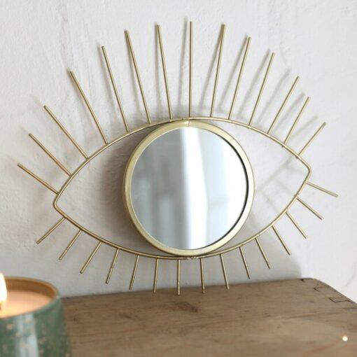 Sass & Belle Spegel Gold Tribal Eye