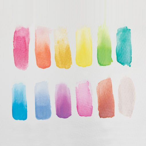 112975-5 OOLY Vattenfärg Pärlemor Chroma Blends Watercolor Paint Set - Pearlescent