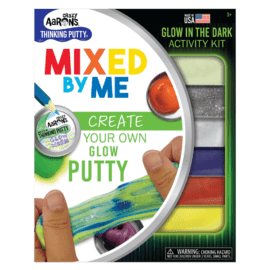 113035 Crazy Aarons Thinking Putty Glow In The Dark – Mixed By Me Kit