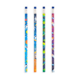 113073-1 OOLY Grafitpennor Astronaut Graphite Pencils - Set om 12