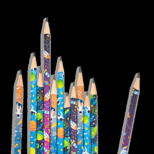 113073-2 OOLY Grafitpennor Astronaut Graphite Pencils - Set om 12