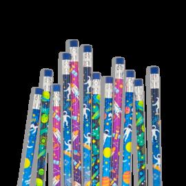 113073-4 OOLY Grafitpennor Astronaut Graphite Pencils - Set om 12