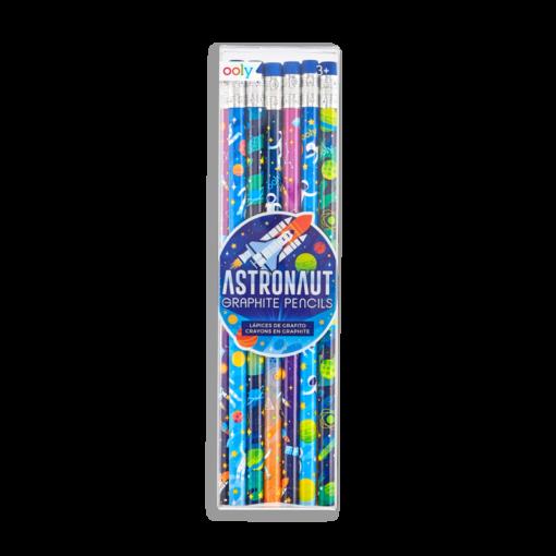 113073 OOLY Grafitpennor Astronaut Graphite Pencils - Set om 12