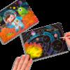 113083 OOLY Skrapmotiv Space Explorer Scratch And Scribble