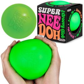 113086-3 Schylling Super-sized Stressboll Neon Nee-Doh The Groovy Glob dia 11 cm