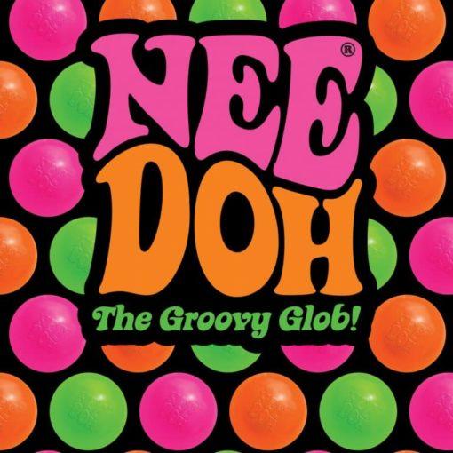 113086-9 Schylling Super-sized Stressboll Neon Nee-Doh The Groovy Glob dia 11 cm