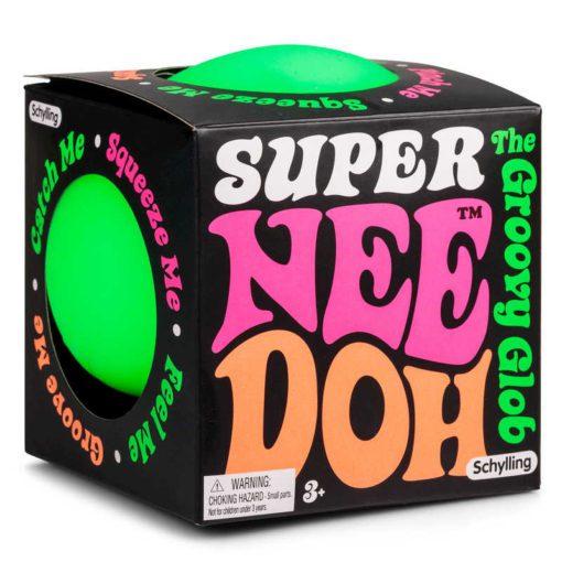 113086 Schylling Super-sized Stressboll Neon Nee-Doh The Groovy Glob dia 11 cm