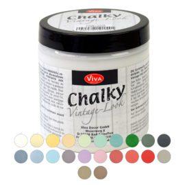 113104-1 Viva Decor Sidenmatt Målarfärg - Chalky Vintage Look 250 ml