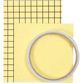 113106-1 Sticky Pack Set Dubbelhäftande Tejp, 3D-kuddar, Dubbelhäftande Folie