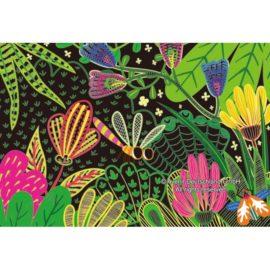 113129-5 AVENIR Skrapmotiv Scratch & Create Art Joint Puppets Little Bugs