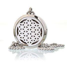 113130-1 Ancient Wisdom Halsband Aromaterapi Flower of Life 30 mm