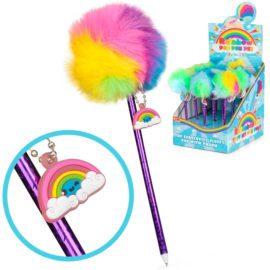 113140-1 Tobar Kulspetspenna Rainbow Pom Pom