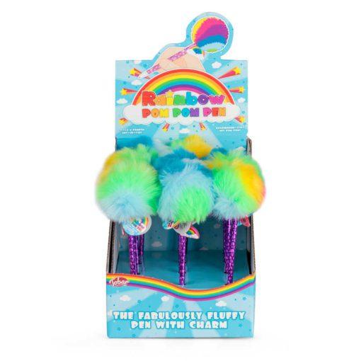 113140 Tobar Kulspetspenna Rainbow Pom Pom