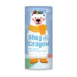 113148 AVENIR Gelkritor Polar Bear Silky Crayons Watercolor + Coloring Poster – Set om 1211