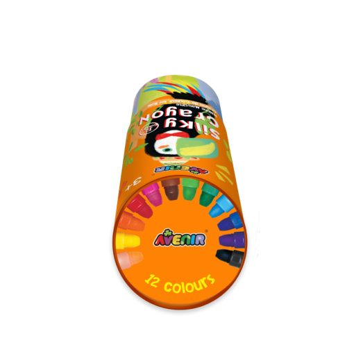 113150-1 AVENIR Gelkritor Toucan Silky Crayons Watercolor + Coloring Poster - Set om 12
