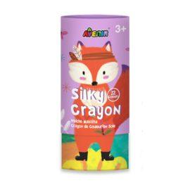 113151-6 AVENIR Gelkritor Fox Silky Crayons Watercolor + Coloring Poster - Set om 12