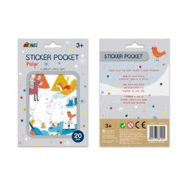 113154 AVENIR Stickers Pocket Polar Bear