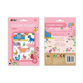 113155 AVENIR Sticker Pocket Pig