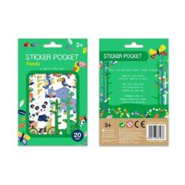 113156 AVENIR Sticker Pocket Panda